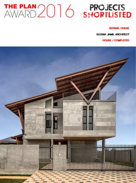Sepan House_Plan Award 2016